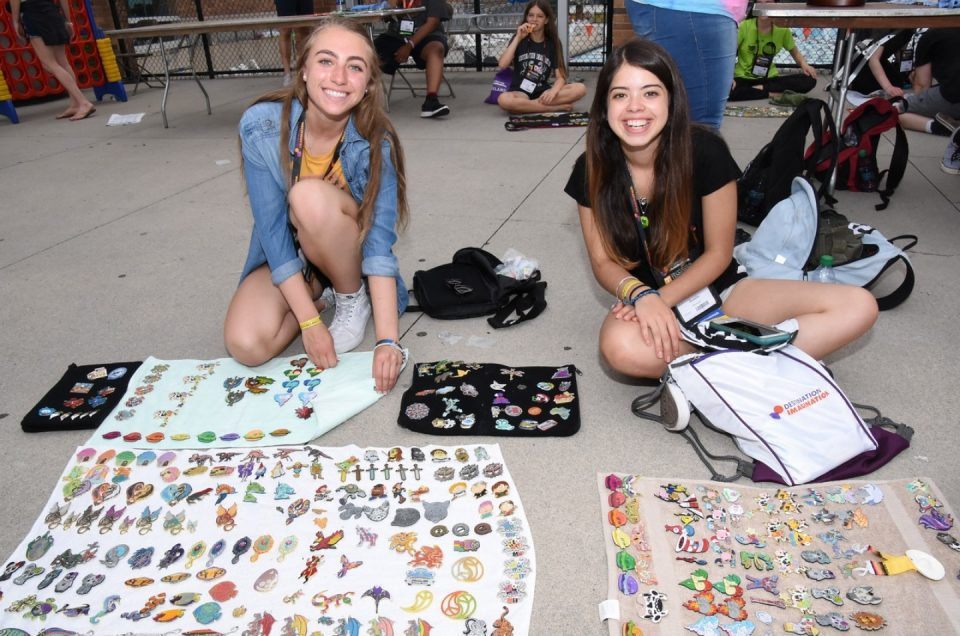 Pin Trading at Global Finals