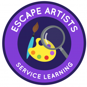 18-19 Challenge Logo SERVICE LEARNING-Escape Artists